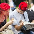 Socializing at Turkish festival — Stock Photo #28540913