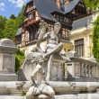 Stock Photo: Peles castle, Sinaia, Romania