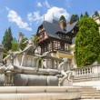 Peles castle, Sinaia, Romania — Stock Photo #29222499