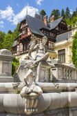 Peles castle, Sinaia, Romania — Stock Photo