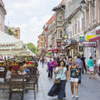 City life in Brasov, Romania — Stock Photo