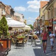 City life, Brasov, Romania — Stock Photo