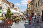 City life, Brasov, Romania — Stock Photo
