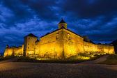 布拉索夫堡垒的夜景 — 图库照片