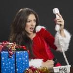 Christmas time crisis — Stock Photo #36121237