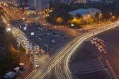 夜 victoy 広場 — ストック写真