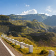 Mountain road landscape — Stock Photo