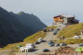 Mountain rescue station of Balea Lake resort — Stock Photo