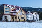 Hotel in Poiana Brasov, Romania — Stockfoto