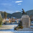 Unknown Soldier Statue, Brasov, Romania — Stock Photo