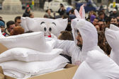 International Pillow Fight Day 2014 — Foto Stock