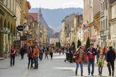 центр города брашов — Стоковое фото