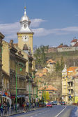 Historic center of Brasov, Romania — Stock Photo
