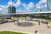 Promenada shopping center, Bucharest, Romania — Stock Photo