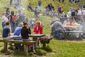 люди, пикник — Стоковое фото