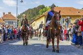 Parata juni Brasov — Foto Stock