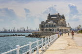 Casino seawall, Constanta, Romania — Stock Photo