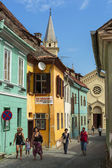 Sighisoara citadel, Roemenië — Stockfoto