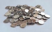 Monete Repubblica ceche — Foto Stock