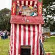 Stock Photo: Traditional Punch and Judy Booth