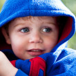 Stock Photo: Youngster with hoodie