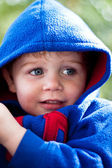 Youngster with a hoodie — Stock Photo