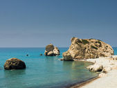 Petra Tou Romiou, Aphrodites' Rock — Stock Photo