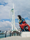 The Spinnaker tower — Stock Photo