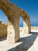 A roman arch at Curium — Stock Photo