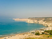 Curium Beach and Bay, Cyprus — Stock Photo