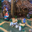 Stock Photo: Christmas Crib