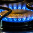 Stove Natural Gas Burners — Stock Photo #18187221