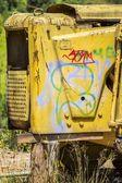 Junk Abandoned Machine — Stock Photo