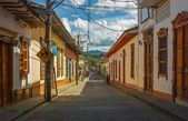 Colombian Country Colonial Town — Stock Photo