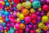 Christmas Shiny Tree Balls — Stock Photo