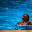 Stock Photo: Swimming Diving
