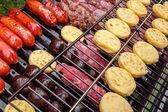 Carne para churrasco — Foto Stock
