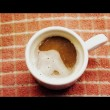 Royalty-Free Stock Photo: Cup of coffee (cinemascope)