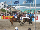 Beach polo 2013 — Stock Photo