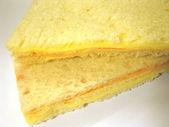 Crumbs sandwich — Stock Photo
