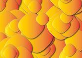 黄色とオレンジ色のパネル — ストック写真