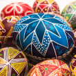 Stock Photo: Big Easter Egg with pattern