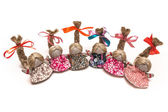 Ward dolls traditional handicraft art culture — Stock Photo