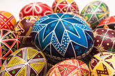 Big Easter Egg with pattern — Stock Photo