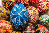 Blue egg for Easter holiday — Stock Photo
