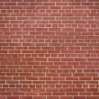 Red brick wall backgraund — Stock Photo