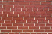 Cerrar backgraund de pared de ladrillo rojo — Foto de Stock