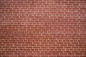 Backgraund de pared de ladrillo rojo — Foto de Stock