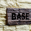Base — Stock Photo