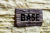 Base — Stock Photo